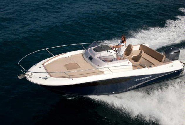 Overview of the sales process of a boat